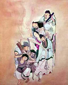 Eight Famous Taoist Immortals