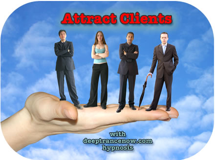 Attract Clients with hypnosis