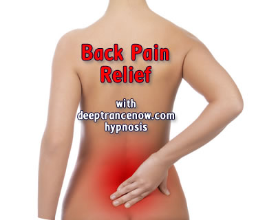 Back Pain Relief hypnosis