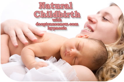 Natural childbirth greatly reduces the risks for mother and for baby.