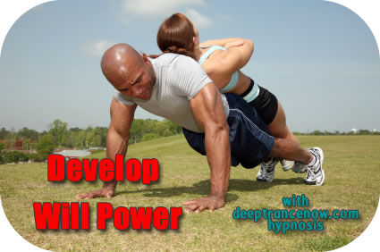 Develop Will Power