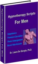 Hypnotherapy Scripts for Men - Impotence, Premature Ejaculation, Penis Enlargement