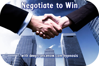 Negotiate To Win hypnosis