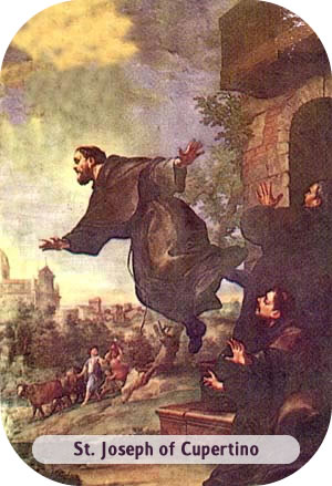 St. Joseph of Cupertino - The Flying Friar