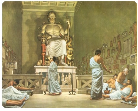 Healing Temple of Aesculapius