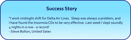 Enjoy Deep Sleep with Hypnosis CDs and mp3 downloads
