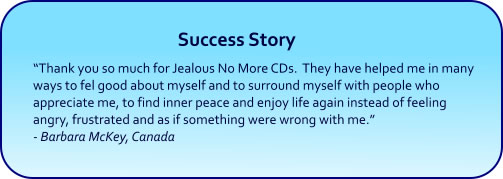 Jealous No More Hypnosis CDs and mp3s success story