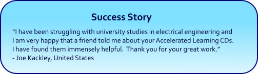Accelerated Learning Hypnosis Success Story