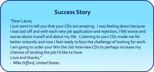 Self Esteem Hypnosis CDs and mp3 Downloads - success story