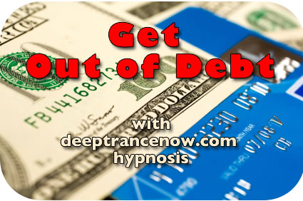Get Out of Debt with Debt Free hypnosis, subliminal