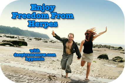 Herpes Relief Hypnosis CDs and mp3 downloads, subliminal